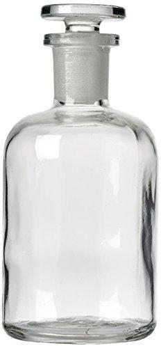 SLS selezionare bot64040reagente bottiglia, Bocca stretto in vetro trasparente con tappo, 100ml