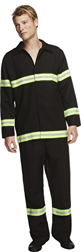 SMIFFYS Costume Fever da pompiere, giacca e pantaloni