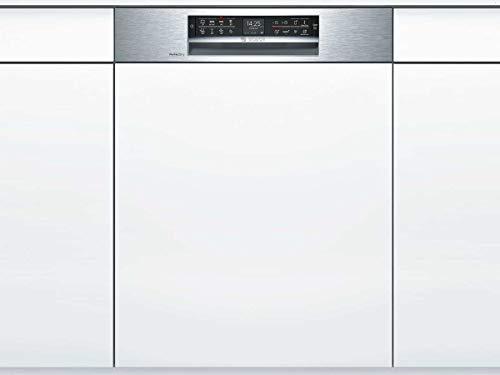 Bosch SBI68TS06E Serie 6 XXL-Geschirrspüler Teilintegriert / A+++ / 60 cm / 237 kWh/Jahr / 14 MGD / Edelstahl / SuperSilence / TFT-Display / PerfectDry mit Zeolith / VarioSchublade Pro