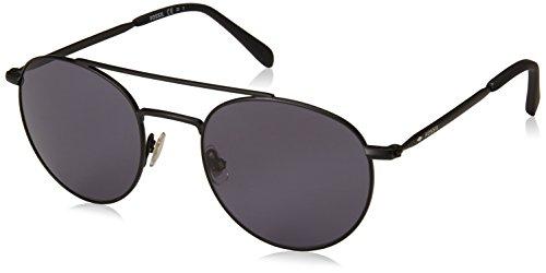 Fossil sonnenbrille fos3069/s-003-51 herren occhiali da sole, nero (schwarz), 51.0 uomo