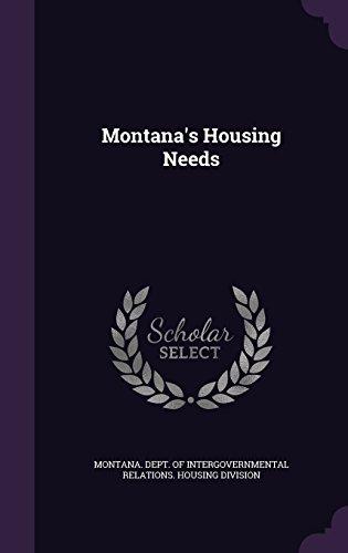 Montana's Housing Needs