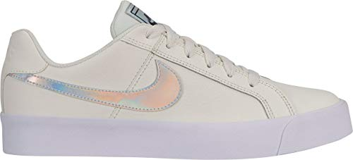 Nike Wmns Court Royale AC, Scarpe da Tennis Donna, Bianco (Sail/White-Black-Gum Light Brown 104), 38 EU