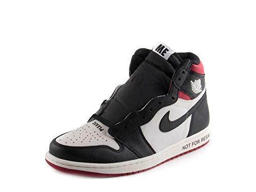 Nike Herren Air Jordan 1 Retro High Og Nrg Fitnessschuhe, Mehrfarbig (Sail/Black/Varsity Red 106), 44.5 EU