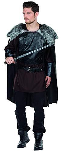 Rubie's Wolfskrieger Kostüm Größe 54 Herren Karneval Wikinger Krieger Fasching Nordmänner - Barbar Kostüm Männer