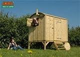 Spielhaus / Kinderspielhaus Joda Bauwagen 180x200x245cm kdi