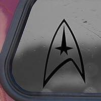 Star Trek negro de vinilo para p