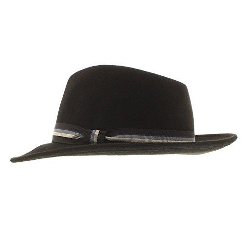 votrechapeau-impermeabile-stripe-ribbon-cappello-borsalino-in-feltro-edgar-black-55-cm