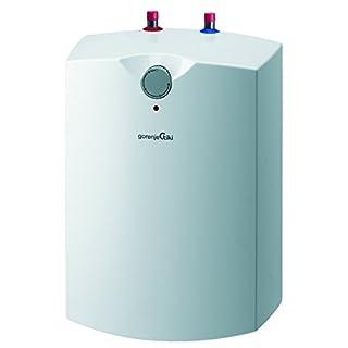 Gorenje Warmwasserspeicher, 10 L, EEK A, emaillierter Innenbehälter, 2 kW, Untertisch, druckfest, 1 Stück, weiß, GT 10 U