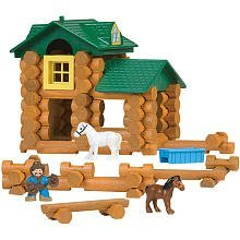 knex-lincoln-logs-sunnyfield-stable-building-set-by-unknown