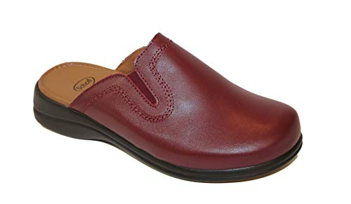 Dr.scholl new toffee bordeaux ciabatta donna pelle memory (39)