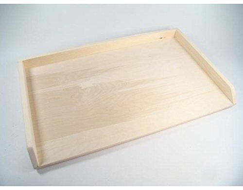 prezzo Tavoliere Spianatoia In Legno 4 Misura rettangolare con rialzo 80X50Cm