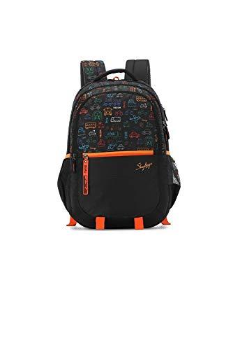 Skybags Figo Plus 07 34 Ltrs Black Casual Backpack (FIGO...