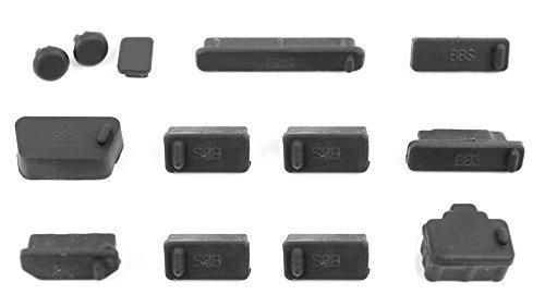 Für Ihr Dell i55655850GRY / XPS 15 9550 / i3552 / XPS 15 und Latitude 7280: Praktische Staub-Abdeckungen für Kopfhörer-, USB- und Mikrofon Anschluss (Xps-tastatur-abdeckung)
