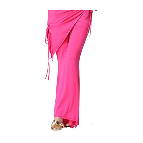 Dame Weibsbild Bauchtanz Hose Bauchtanz Hip Schal Hose Elastic Tanzen Kostüm (Für Kostüme Ägyptische Kinder Bauchtanz)