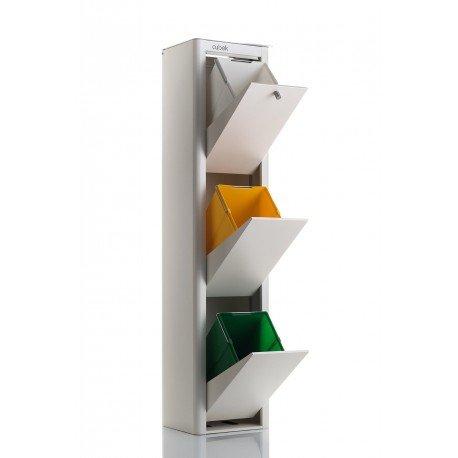 DON HIERRO - Cubo de Basura para Reciclar 3x20l cubek