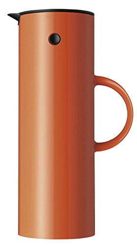 Stelton Isolierkanne 950, orange, 1 liter