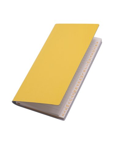 paperthinks-recycled-leather-9-x-13cm-128-page-long-address-book-mango