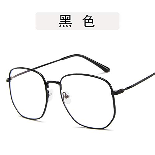 ZYG999 Klarglas Brillen Gold Myopie Brillen Frauen Männer Brillenfassungen Optische Gläser Rahmen Transparente Linse