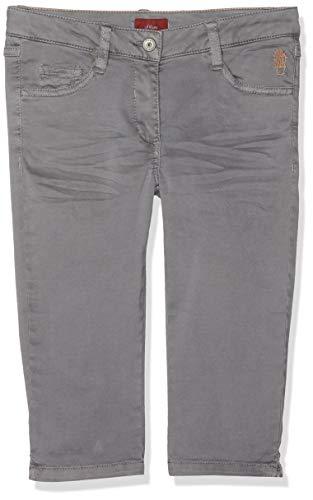s.Oliver Mädchen 66.904.76.4992 Hose, Grau (Grey 9464), 164 (Herstellergröße: 164/REG) (Capri-jeans Mädchen)