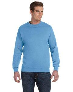 Gildan Heavy Blend Sweatshirt mit Rundhalsausschnitt L,Blau (Sweatshirt Blau Herren)