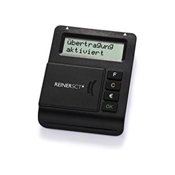 REINER SCT tanJack optic CX Online Banking TAN Generator für ChipTAN + Sm@rt TAN Plus | TAN & ATC Anzeige | Schwarz