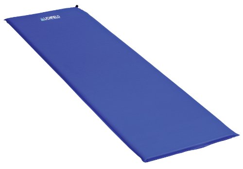 31A4o nJDPL - Lichfield SIM Self-Inflating Camping Mat, Scuba Blue, 3 cm
