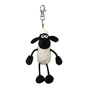 Shaun the Sheep 61176 - Ovillo de Lana, Color Blanco y Negro