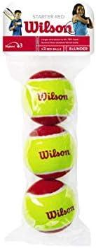 Wilson tennisbollar startröd för barn