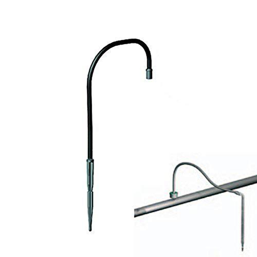 aliespain® pieuvre de Micro-Irrigation de 1 sortie. Microtubo 60 cm irrigation par goutte. Lot de 50