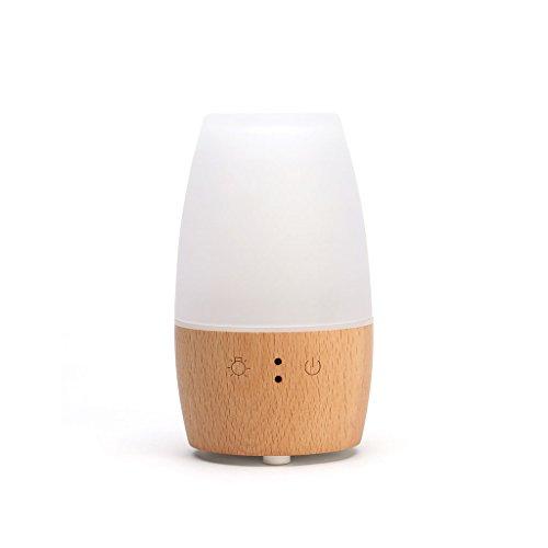 Qi Tai - Humidificador de Aire del hogar Humidificador de Aire, lámpara de Fragancia enchufable del Horno de aromaterapia Creativa, humidificador de Aire pequeño y protección contra la Falta de Agua