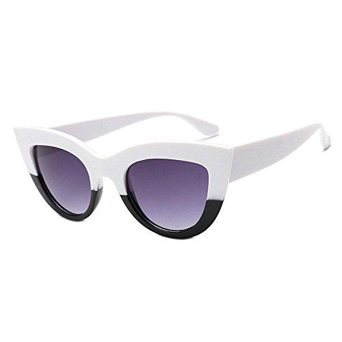 Aolvo Katzenauge Sonnenbrille, herzförmige mit Sonnenbrille-Brillen Damen Vintage Weihnachten giftv für Mädchen Kostüm Zubehör von e