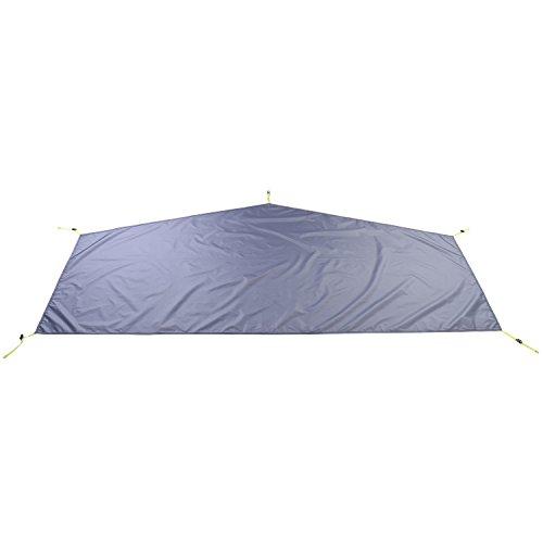 Ultra-leicht ca.1200g doppelwandiges Einmannzelt 1 Person Vorzelt Vorraum Moskitonetz wasserdicht einfach aufzubauen kleines Packmaß kompakt Tunnel Zelt (B (Extra Zeltboden))