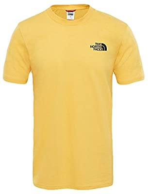 The North Face Herren M S/S Simple Dome Tnf T-Shirt, Blau von NOS39|#The North Face - Outdoor Shop