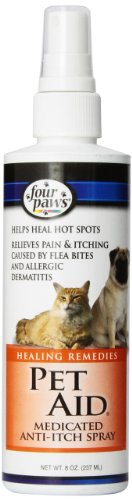 Artikelbild: Four Paws Pet Aid Medicated Anti-Itch Spray 8oz Relief From Minor Skin Problems