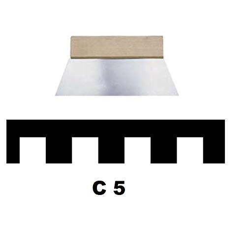 Leim Klebstoff Zahnspachtel Bodenleger Normalstahl C5 10x10mm gezahnt 180mm