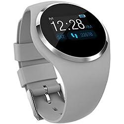 FANZIFAN Montre Intelligente Montre Intelligente IP68 de Moniteur de Couleur de Montre-Bracelet IP68 de fréquence Cardiaque imperméable Surveillant Le Bracelet de Sports imperméable Smartwat