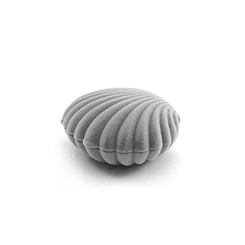 horn Ring Ohrring Ohr-Bolzen Eardrop Earbob Box Kasten Behälter (Muschel-box)