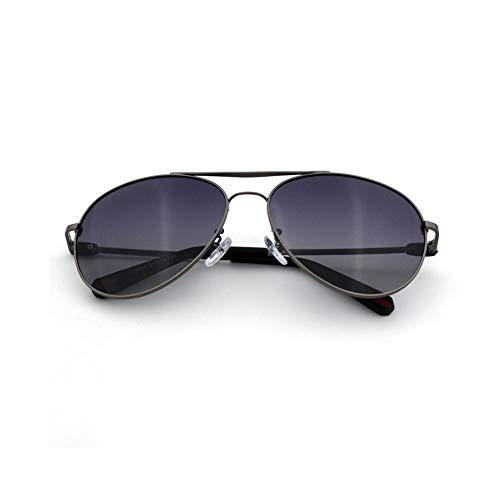 Thirteen Sonnenbrillen Herren Fahren Fahren Polarisatoren Starke Schlagfestigkeit Mit Einer Vielzahl Von Gesichtstypen Langlebig Und Nicht Verformt (Farbe : Gun frame)