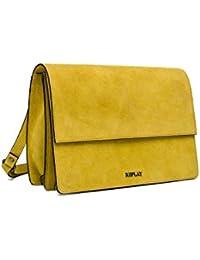 REPLAY Damen Fw3709.000.a3054 Umhängetasche, Gelb (Hot Yellow), 9x20x29 cm
