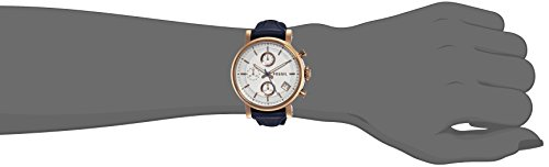 Fossil Women's ES3838 Blue Leather Quartz Fashion Watch