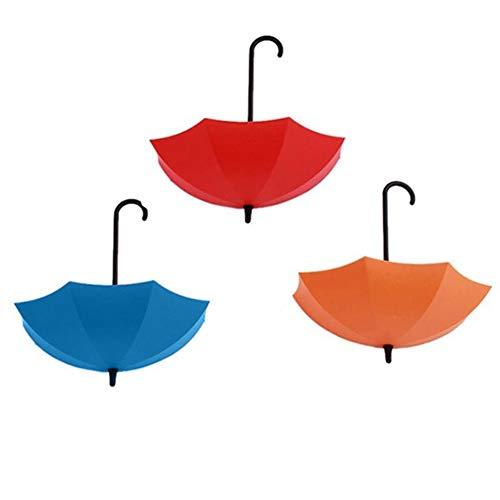 Dandeliondeme Bunte niedliche Mini-Regenschirm-Wandhaken, Schlüssel-Halter, dekoratives Organizer-Werkzeug für Küche, Badezimmer, Wand, Schränke.
