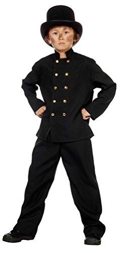 Kostüm Schornsteinfeger Kostüm Kind Karneval Beruf Kinderkostüm Größe 152 (Vogelscheuchen Und Halloween-geschichte)