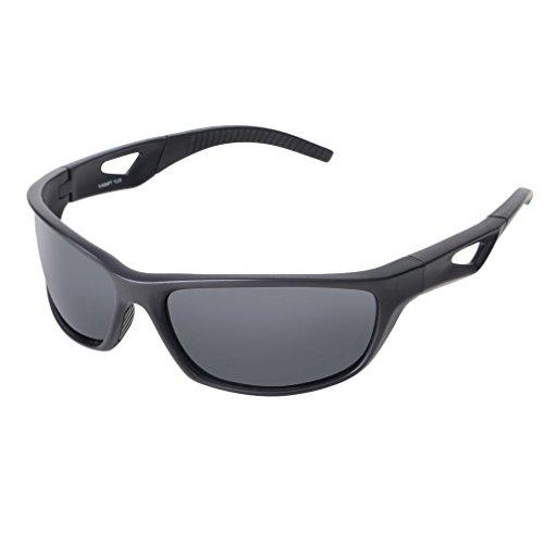 Colorful(TM) Polarisiert Sonnenbrille auch Brillenträger Tuch Brille Fall Brille Tasche Test Card (C)