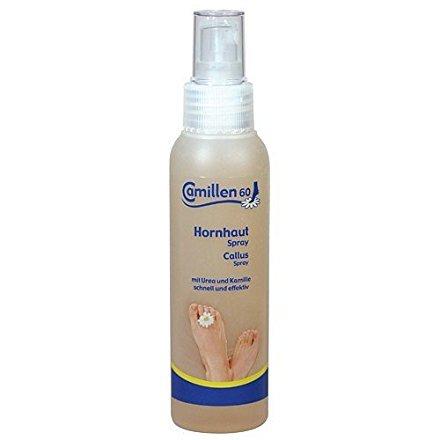 Hornhaut Spray Camillen 60 mit Urea 15%, Hornhautentfernung, Hornhautweicher, 125 ml -
