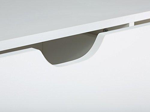 massivum Lowboard Wakefield 140x45x40 cm MDF weiß lackiert - 5