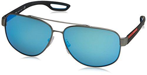 f6ae9721e9 Prada Sport 0PS58QS DG15M2, Gafas de Sol para Hombre, Gris (Gunmetal Rubber/