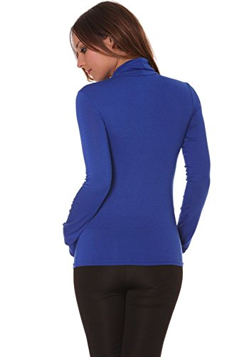 dmarkevous -  Maglia a manica lunga  - Donna blu royal