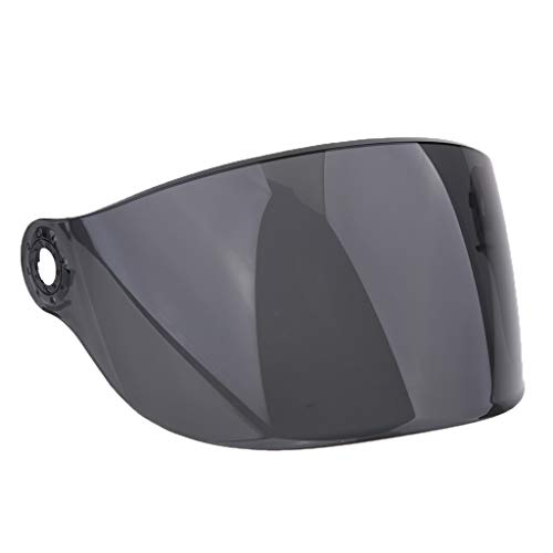 Homyl Visiera Casco Moto Protezione Raggi UV Per YOHE 357 358 350A 339 LINS - 6