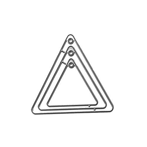 Qiman Triángulo de día Perforadora-Troquel