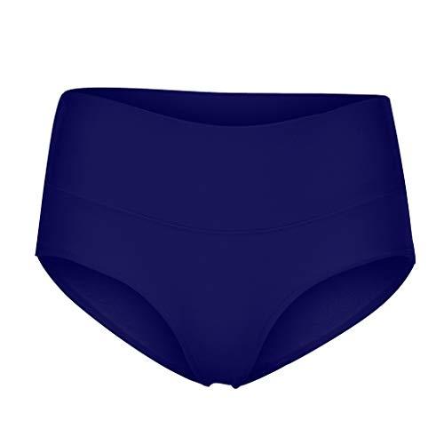 Timitai Damen-Slips Einfarbige Slips aus weicher Baumwolle mit hoher Taille und Nähten Converse Vintage Slip